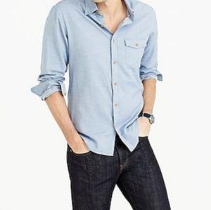 J. Crew Men's Slim Fit Brushed Twill Shirt